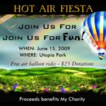hot air fiesta invitation