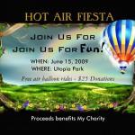 hot air fiesta invitation