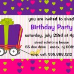 wagon birthday party invitation