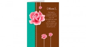 Mother's Day Card Wonderful Mother