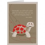Cute Turtle Happy Birthday Card