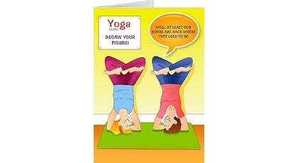 Birthdaycard yoga feat vizons design birthdaycard yoga bookmarktalkfo Image collections