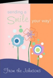 send a smile greeting card