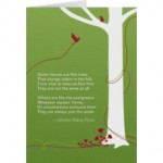 deepest sympathy - tree card
