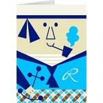 sailor smoking pipe father's day card