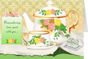 friendship card-teacup & teapot