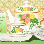 friendship card - teacup & teapot