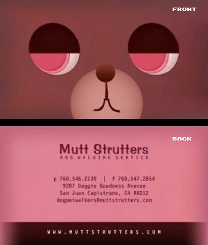 Dog walker business card vizons design dog walker business card dog walker business card colourmoves