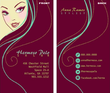 Hair stylist business card vizons design hair stylist business card hair stylist business card colourmoves
