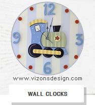clocks, wall clock designs