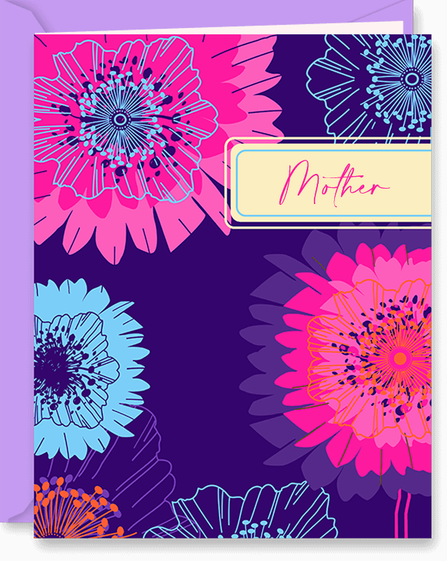 Each Year More Beautiful Birthday Card for Mother