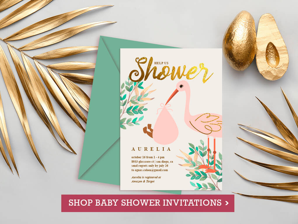 Personalized Gifts - Shop Baby Shower Invites at Vizons Design