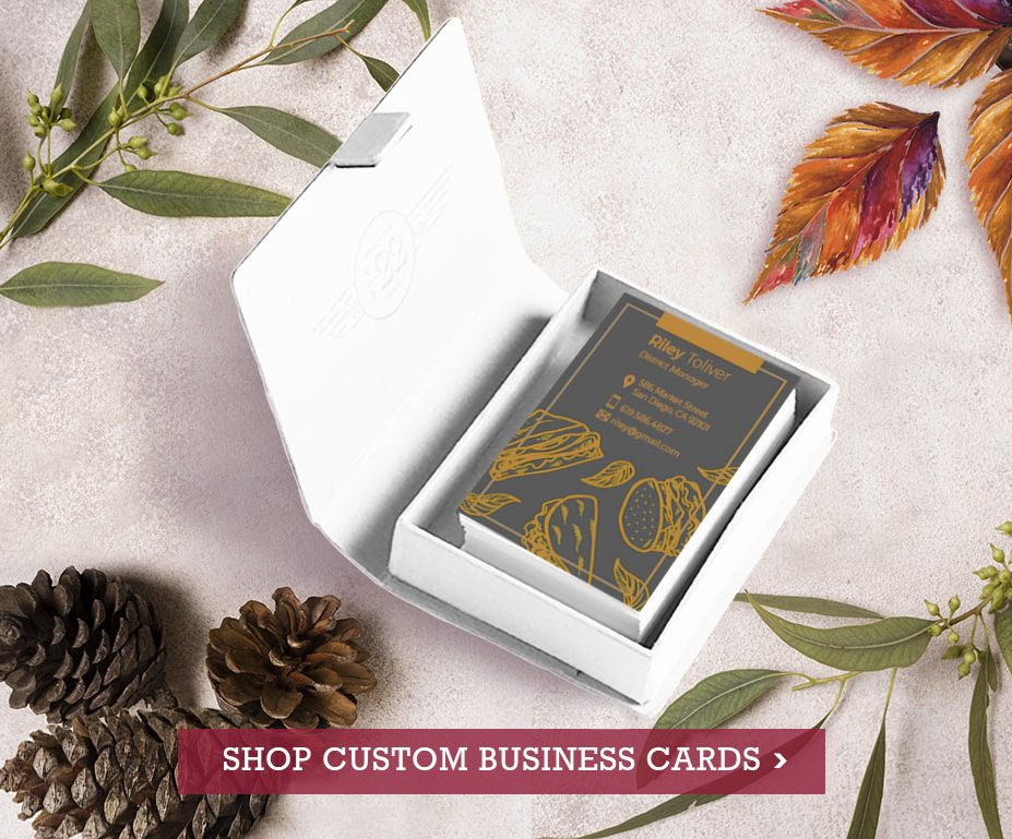 Shop Custom Business Cards at Vizons Design