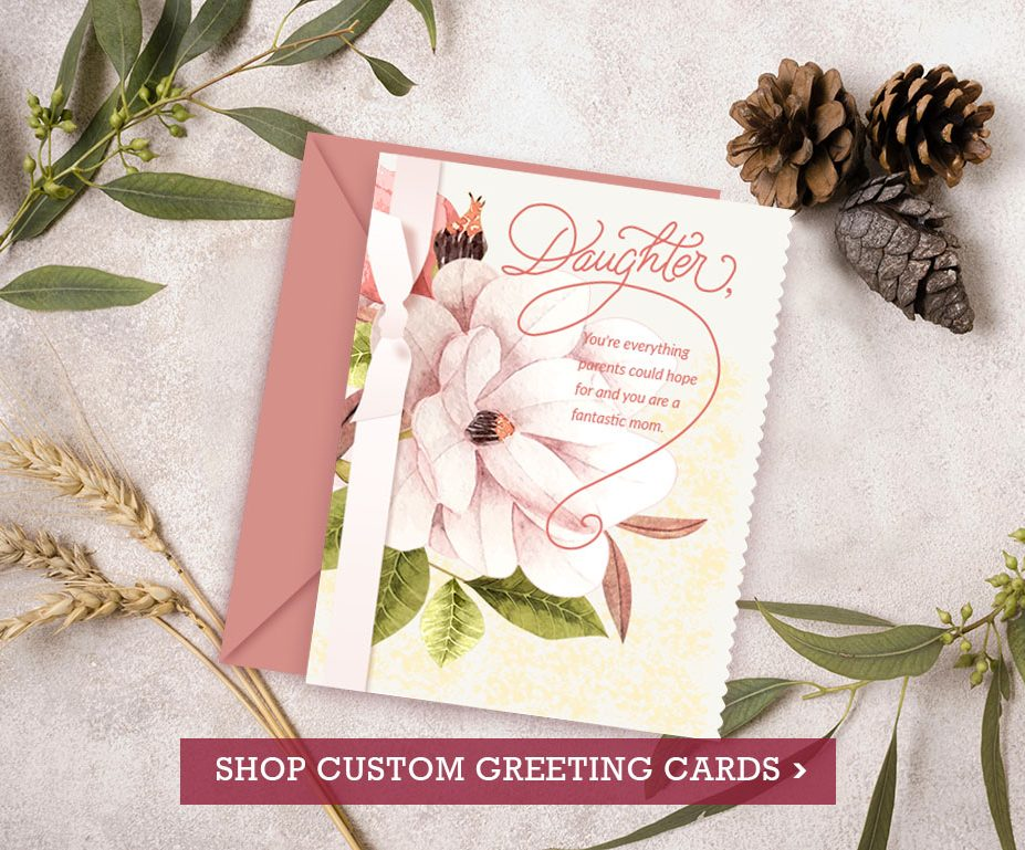 Personalized Gifts - Shop Custom Greeting Cards at Vizons Design