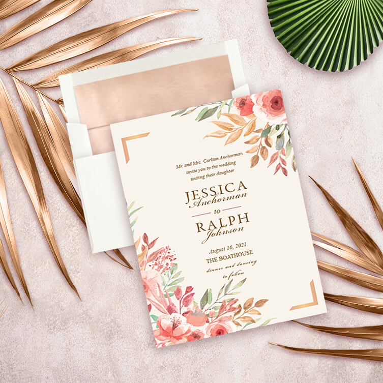 Shop Personalized Wedding Invitations by Vizons Design
