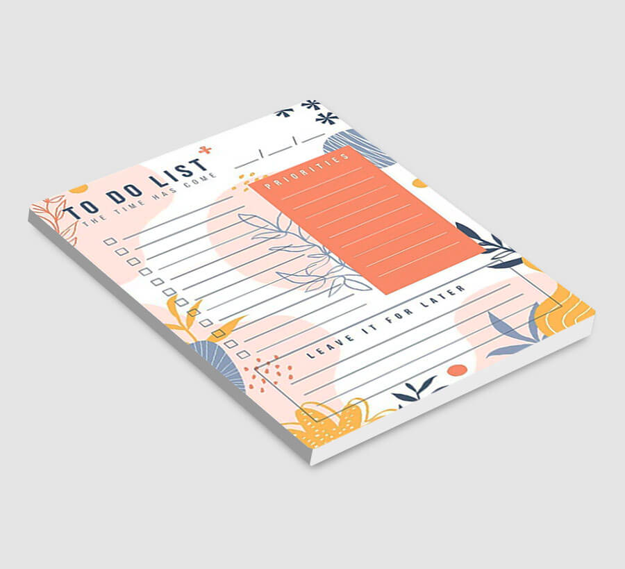 Custom Notepads Personalized Stationery
