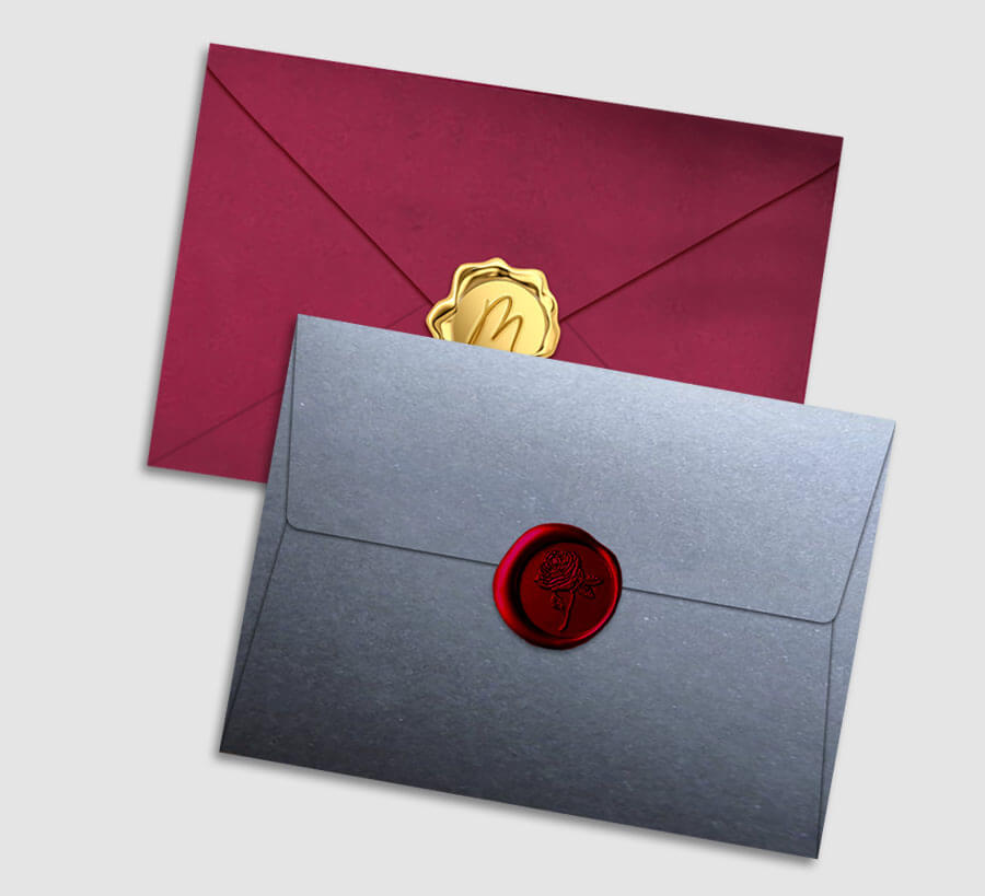 Envelope Seals Personalized Stationery