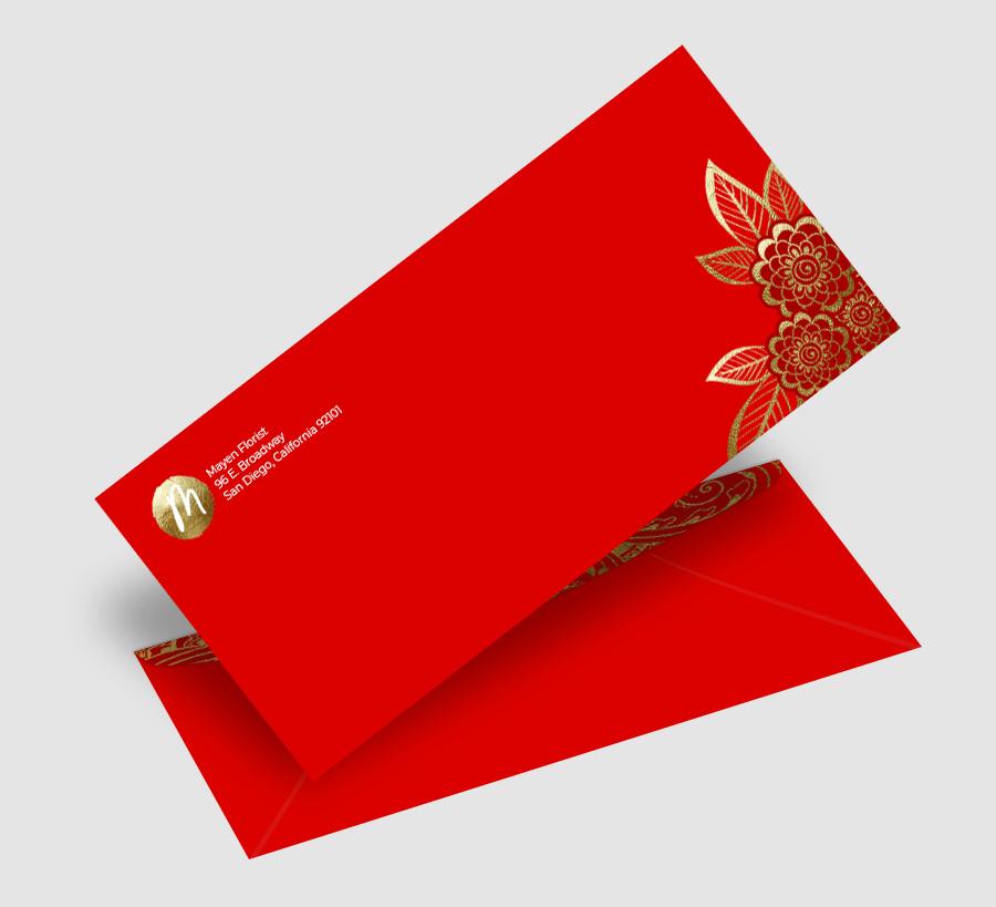 Personalized Stationery Custom Envelopes