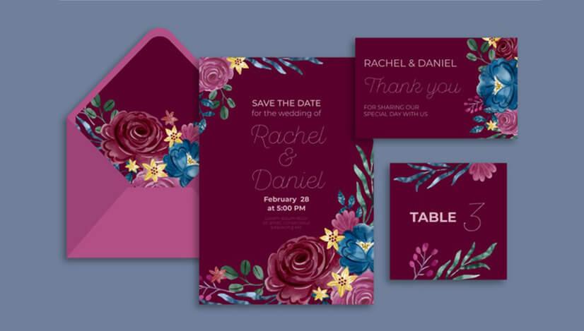 Wedding Invitations Paper Types