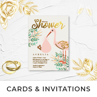 Personalized Cards & Invites