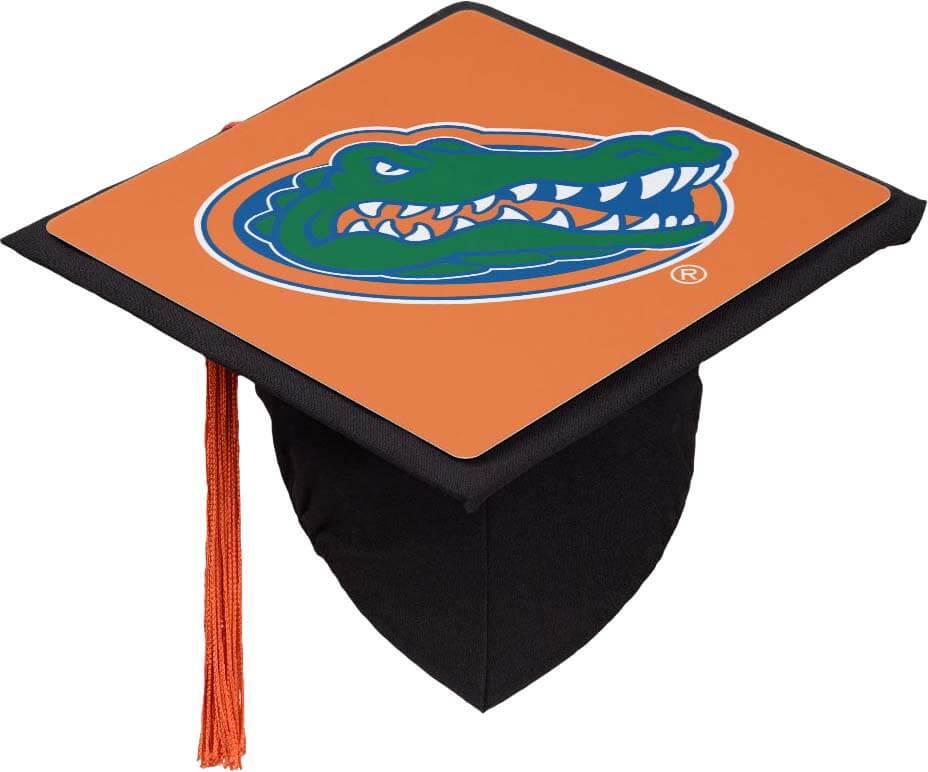 Creative Graduation Cap Decoration Ideas - Florida Gator