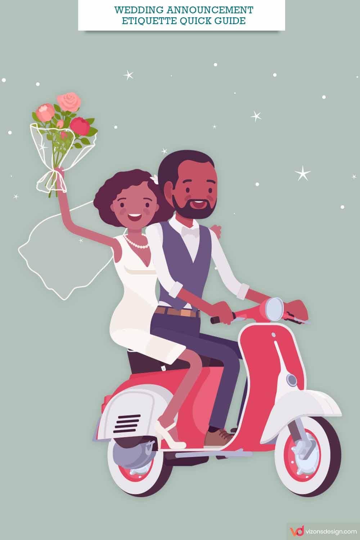 Wedding Announcement Etiquette Quick Guide