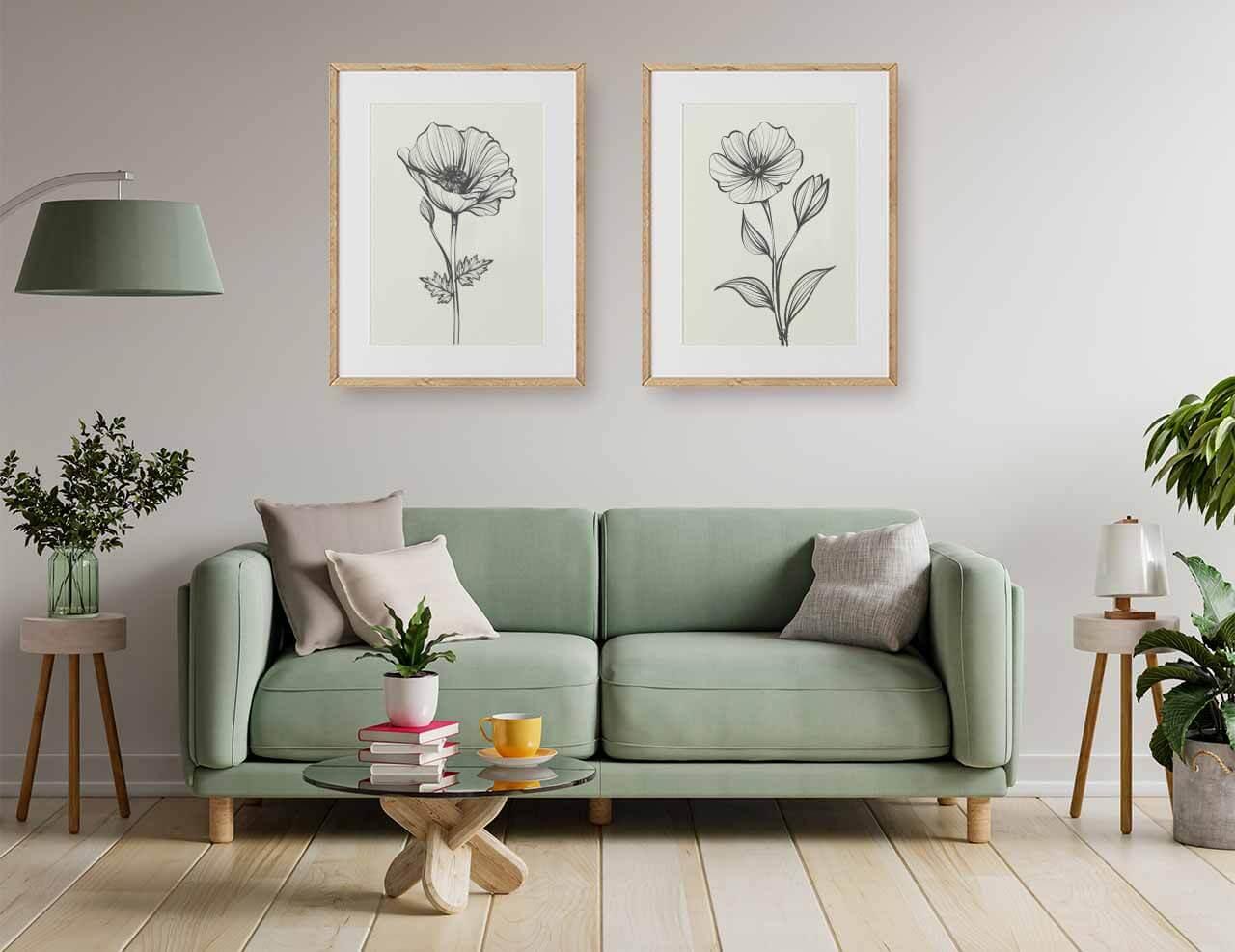 How to Arrange Wall Art   Vizons Design