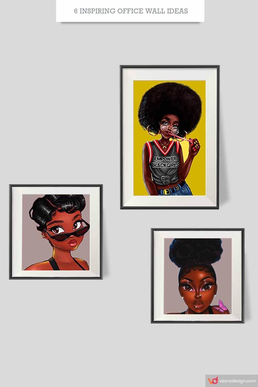 4 Inspiring Office Wall Art Ideas