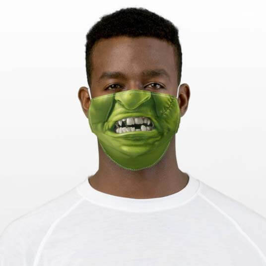 Trick or Treat During COVID Monster Halloween Masks
